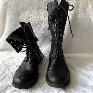 Steve Madden Zorrba Combat Boots